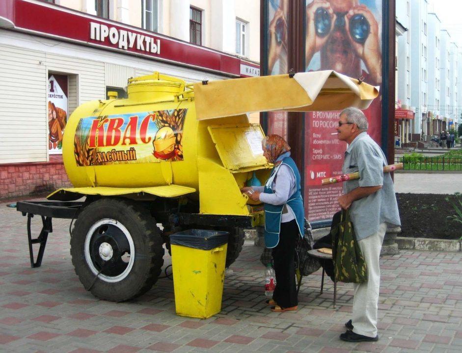 Kvass - Thức uống phổ biến khắp đường phố Latvia