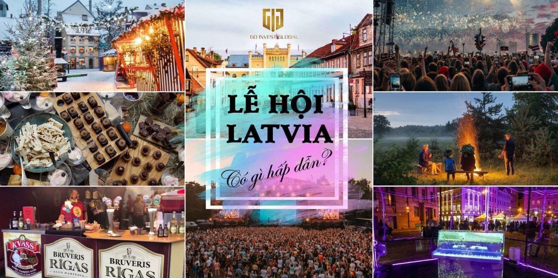 Những lễ hội phổ biến ở Latvia