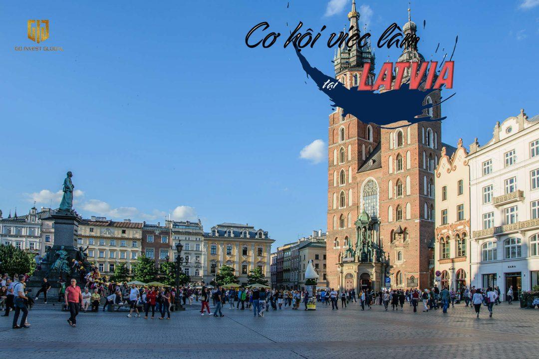 Cơ hội việc làm tại Latvia - GIG
