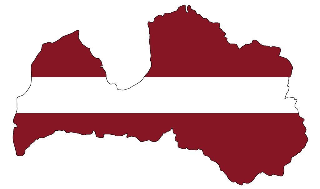 Cờ của Latvia là một trong những lá cờ lâu đời nhất trên thế giới