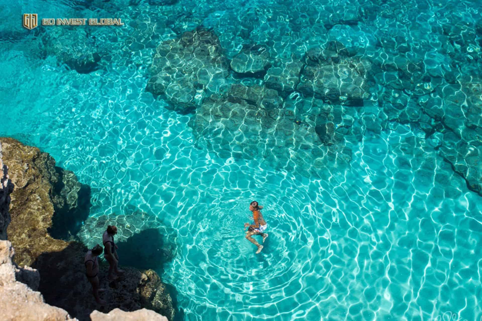 Síp nổi tiếng với các bãi biển trải dài