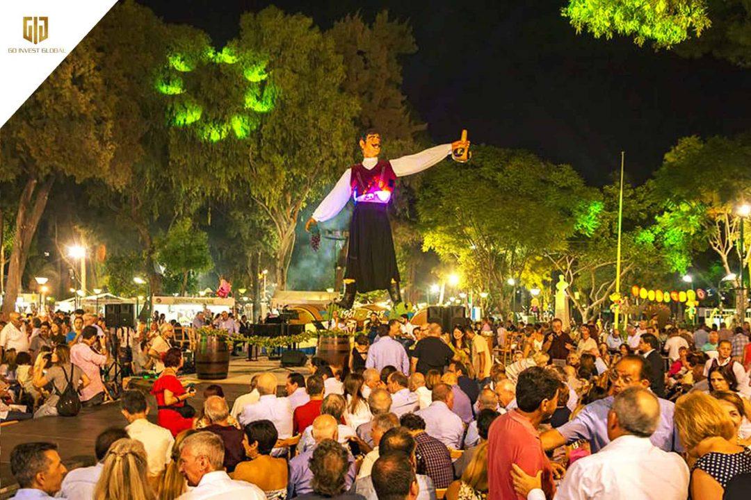 Lễ hội tại đảo Síp: Lễ hội rượu ở Limassol