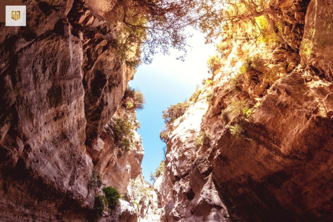 Điểm du lịch tại đảo Síp - Khe núi Avakas