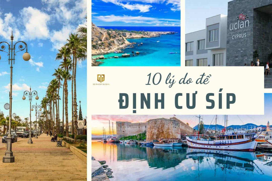 10 lý do nên định cư ở đảo Síp - Cyprus - Công ty tư vấn đầu tư Định cư quốc tế GIG - Chuyên gia về định cư châu Âu, định cư đảo Síp Cyprus